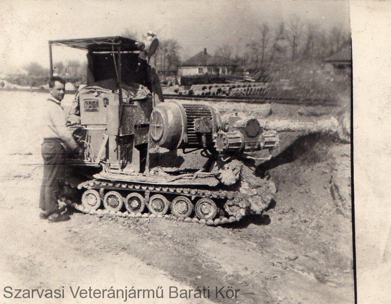 Id.Szeljak János F4-es bányagéppel (1966)