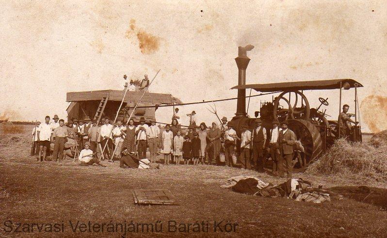Murányi Antal gépe és részesei Molnár Sándornál-1939-ben.
