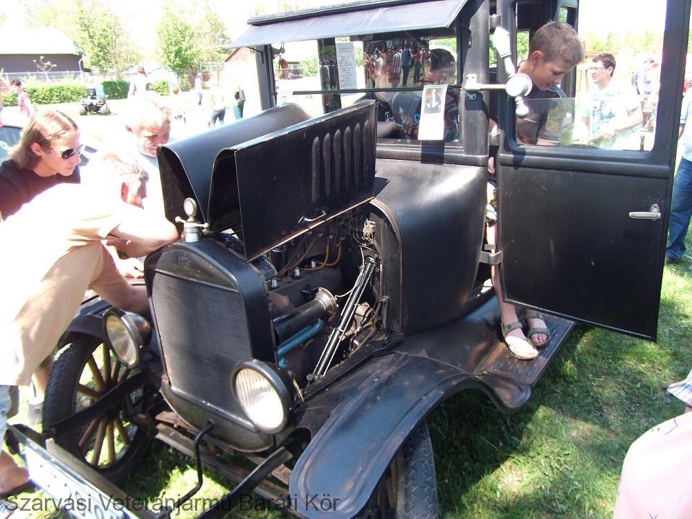 I.Szarvasi Veterán Gép- és Járműtalálkozó Ford T (1925)