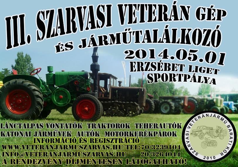 III.-szarvasi-Veterán Gép- és Járműtalálkozó